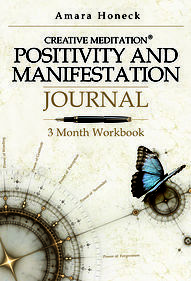 """Manifestation journaling is entirely different from traditional journaling because it teaches you to focus on the positives in your life to empower your soul. ---- """"Positivity and Manifestation Journal"""" by Amara Honeck"""