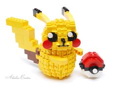 """LEGO Pokemon - Pikachu"" by alanboar: Pimped from Flickr"