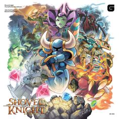 """Shovel Knight Soundtrack on Vinyl Features Custom Art The soundtrack of Yacht Club Games' hit title Shovel Knight is headed to both vinyl and CD courtesy of Brave Wave Productions. Mega Man and Pokemon illustrator Hitoshi Ariga created custom artwork that is featured on Shovel Knight The Definitive Soundtrack. Additionally the release includes commentary from composers Jake """"virt"""" Kaufman and Manami Matsumae. Shovel Knight The Definitive Soundtrack via Brave Wave Continue reading https:/"""