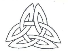 Would make a cool tattoo! The Celtic symbol for inner strength. What every RA patient needs.