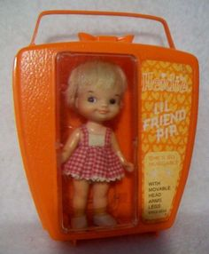 "Remco's+Rarest+Pocketbook+Doll+""Heidi's+Lil+Friend+Pip""++Never+Removed+from+Case+"