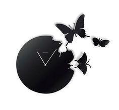 New Arrival Italian Style Beautiful Beautiful Butterfly Design Wall Colck - beddinginn.com