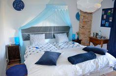 Of logeren in kamer Azul tijdens de Verwenweek voor vrouwen!