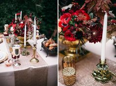 Gatbsy-Themed Fall Wedding Inspiration | Green Wedding Shoes Wedding Blog | Wedding Trends for Stylish + Creative Brides