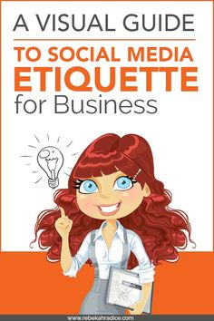 A Visual Guide to Social Media Etiquette for Business Social Marketing, Inbound Marketing, Web Social, Content Marketing, Online Marketing, Marketing Strategies, Affiliate Marketing, Marketing Ideas, Business Marketing