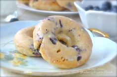 Blueberry Ricotta Donuts   Mother Thyme