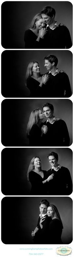 Black and White Portraits-Studio Portraits-Cunningham Photo Artists