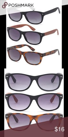 e9f6bde60bf Gamma Ray Optics Bifocal Sunglasses 🕶 Brand new - black - brown - Leopard  UV400 protection