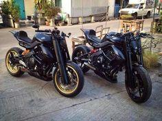 Kawasaki ER6N Mod Kawasaki Cafe Racer, Gs500, Er6n, Scrambler Custom, Moto Bike, Motorcycle Design, Super Bikes, Bike Life, Custom Bikes