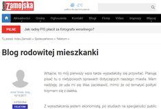 Nowy blog ekonomiczny i zarazem o finansach i produktach bankowych w serwisie Gazety Zamojskiej. https://zamojska.org/artykul/blog-rodowitej-mieszkanki/274710 Do obejrzenia później.
