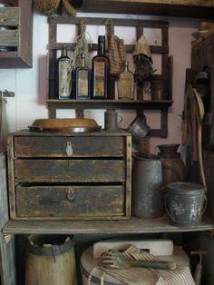 Sweet Liberty Homestead primitive wood wall rack