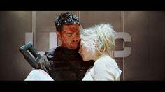 "John ""Reaper"" Grimm (Karl Urban) and his sister Samantha Grimm(Rosamund Pike) Doom Movie, I Movie, Urban Star, Star Trek Cast, Star Trek 2009, Rosamund Pike, Karl Urban, Chris Pine, Tom Hardy"