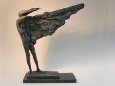 Icarus Rising - by Philip Jackson, sculptor