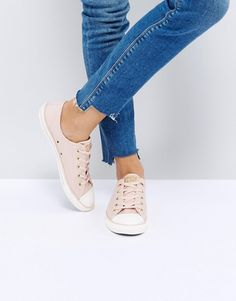e5e55c1c836 Converse Chuck Taylor All Star Dainty Trainers In Pink at asos.com