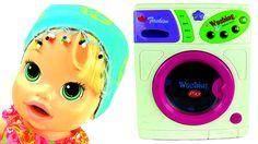 Baby Alive Ev Hanımı - Temizlik Zamanı - Oyuncak Bebek Oyunları