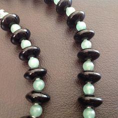 Black Onyx and Aventurine Necklace