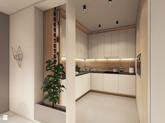Modern apartment design by PLASTE[R]LINAYou can find Modern apartments and more on our website.Modern apartment design by PLASTE[R]LINA Kitchen Room Design, Modern Kitchen Design, Home Decor Kitchen, Interior Design Kitchen, Home Kitchens, Kitchen Ideas, Modern Design, Small Apartment Interior, Modern Apartment Design