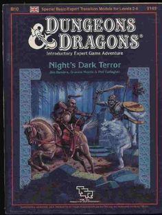 Night's Dark Terror (Dungeons & Dragons Module B10) by Graeme Morris #AD #DungeonsAndDragons #D #RolePlayingGame