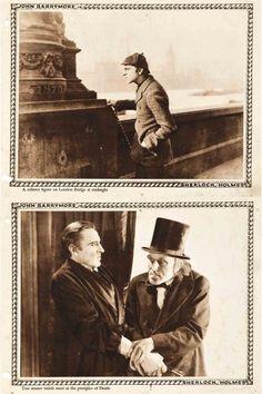 Sherlock Holmes, 1922, Lobby Cards