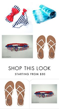 """""""4th of July Beach"""" by brannablack on Polyvore featuring Billabong"""