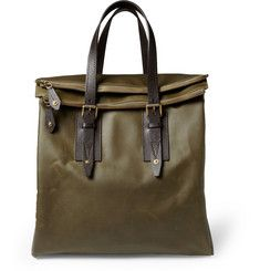 Belstaff Dorchester Waxed-Cotton Tote Bag