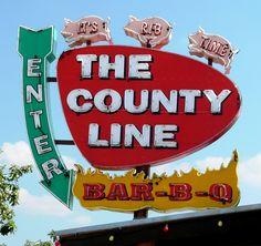 The Country line Bar-B-Q ~ Rockwall TX.