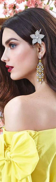 Essence of Fashion ~ Opulent Look ✦ Fashion ✦ Hair ✦ Make-up ✦ Accessorize ✦ Graff Diamonds ✦ from my board: https://www.pinterest.com/sclarkjordan/essence-of-fashion-~-opulent-look/