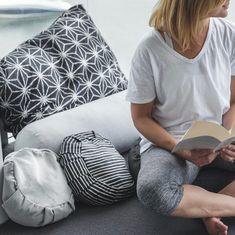 Relax at home with Australian made eco friendly yoga and meditation cushions. Cosy Corner, Meditation Cushion, Yoga At Home, Home Health, Health And Wellbeing, Own Home, Home And Living, Eco Friendly, Mandala