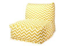 chevron beanbag chair