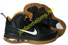 New Nike Lebron 9 Shoes For Sale Black Gold 469764 008 3797a6577