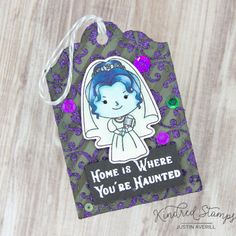 Check out my blog for more details on how I made this tag!