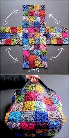 Classic Yet Simple Crochet Pattern Ideas & Projects – … Unique crochet projects! Classic Yet Simple Crochet Pattern Ideas & Projects – …,Handarbeit – Gehäkeltes Unique crochet projects! Classic Yet Simple. Crochet Motifs, Easy Crochet Patterns, Knit Or Crochet, Crochet Designs, Crochet Crafts, Free Crochet, Knitting Patterns, Crochet Ideas, Crochet Bags