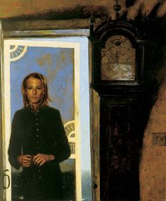 Screen Door to the Sea, 1994 - Jamie Wyeth (American, b. Jamie Wyeth, Andrew Wyeth, Jamie Andrews, Monhegan Island, Nc Wyeth, Great Artists, Male Artists, Famous Artists, American Artists