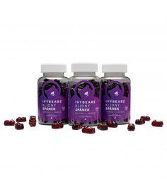 IVY Bears vlasové vitamíny pro ženy - 3 kusy - BellaSalute s. Ivy, Bears, Water Bottle, Drinks, Drinking, Beverages, Water Bottles, Drink, Bear