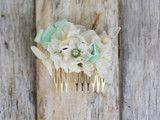 Blumen Haarspange