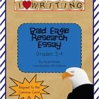 $ Common Core Aligned research writing project.  Grades 2-4.