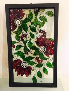 Le chouchou de ma boutique https://www.etsy.com/ca-fr/listing/498162409/fleurs-de-noel-faux-vitrail-peinture-sur