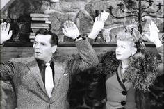 When I first saw this I couldn't help but to think ''Now throw your hands in the air and wave 'em like you just don't care'' I Love Lucy Show, Love Is All, Just Love, Lucy And Ricky, Lucy Lucy, I Love Lucy Episodes, William Frawley, Vivian Vance, Lucille Ball Desi Arnaz