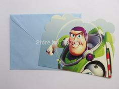 toy story theme children birthday party invitation card*12pcs-in Event & Party Supplies from Home & Garden on Aliexpress.com | Alibaba Group