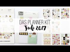 danipeuss.de Plannerkit | Juli 2017