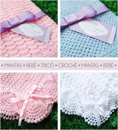 By examining the example, you can make a wonderful blanket for your baby.