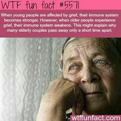 Pain at a young age builds our immune system but not at a old age...wtf fun fact