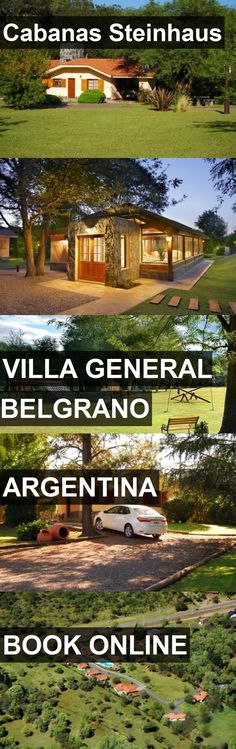 Hotel Cabanas Steinhaus in Villa General Belgrano, Argentina. For more information, photos, reviews and best prices please follow the link. #Argentina #VillaGeneralBelgrano #hotel #travel #vacation