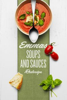 Emmas Soups and Sauces Redesigned on Packaging of the World - Creative Package Design Gallery