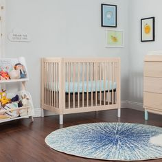 Gelato 4-in-1 Convertible Mini Crib - Project Nursery Nursery Nook, Project Nursery, Nursery Decor, Sibling Room, Small Space Nursery, 4 In 1 Crib, Best Baby Cribs, Shared Bedrooms, Mini Crib
