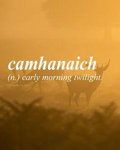 Gaelic for sunrise