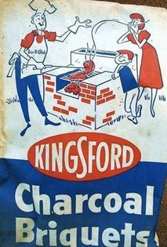 Kingsford® Charcoal Briquets Still Made In the USA! for the barbecue Kingsford Charcoal, Bbq Pitmasters, Summer Memories, Childhood Memories, Bar B Q, Art Of Manliness, Weekend Projects, Made In America, American Made