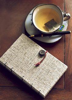 Letterpress Handmade Letterpress Dried Leaves Journal on Etsy, Sold