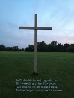 The old rugged Cross .