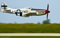 P-51 Mustang.  The most beautiful airplane ever built.